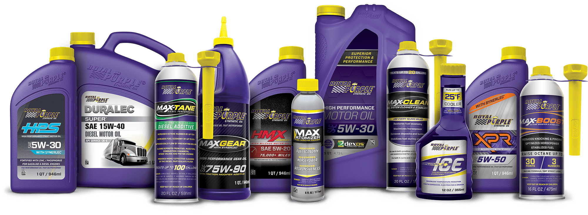 Royal Purple olje